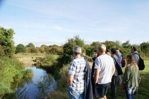 Catchment Partnership Action, River Eden © Kent Wildlife Trust